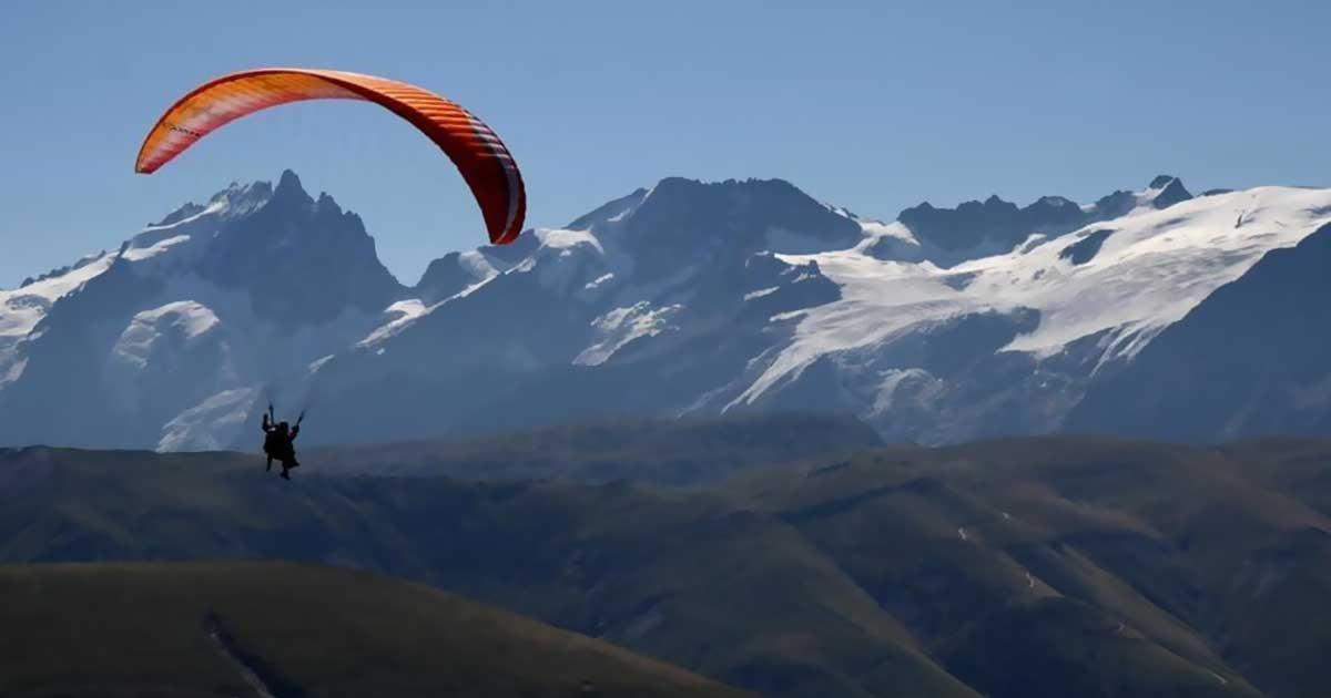 Paragliding tandems en biplace
