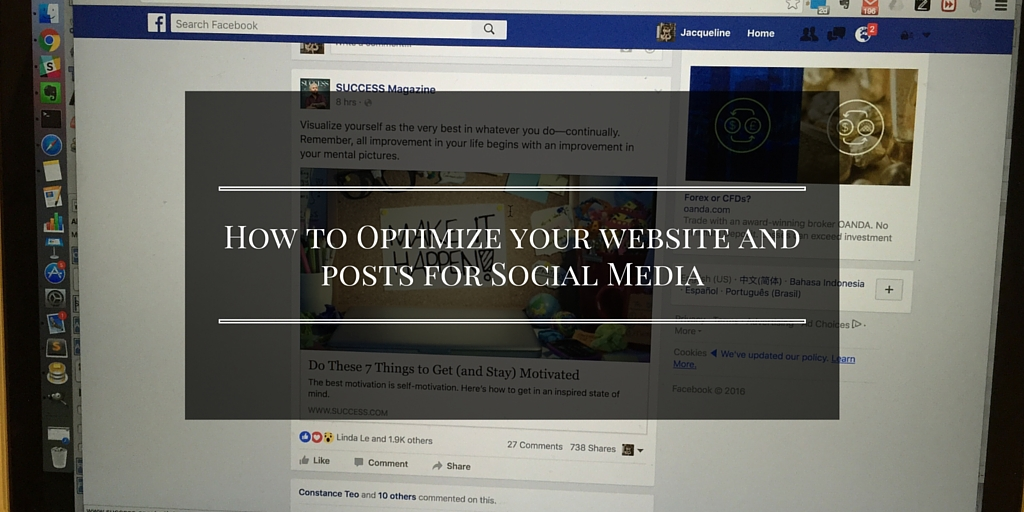 How To Optimize Your Website And Posts For Social Media