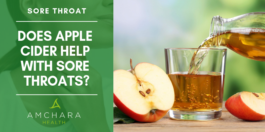Apple-Cider-Vinegar-Helps-With-A-Sore-Throat