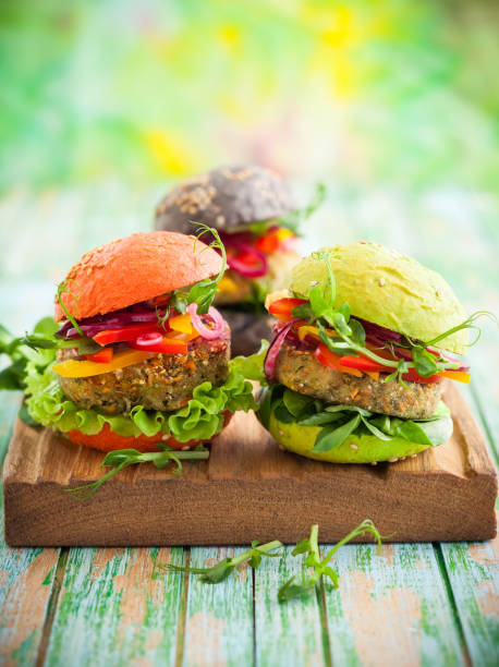 Eat Sensibly like these vegan burgers!
