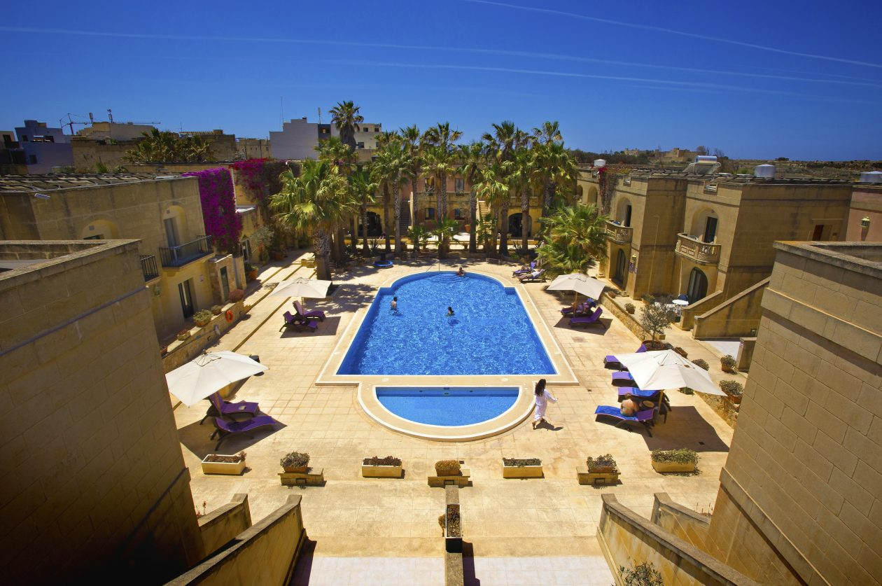 Amchara Malta Pool Top View