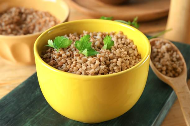 Buckwheat-cooked