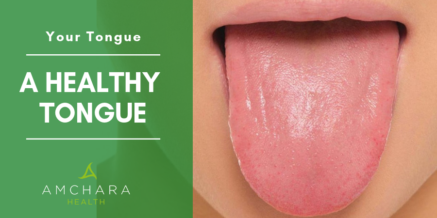 A healthy tongue