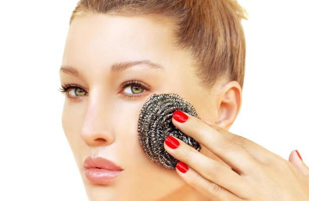 Scrub Skin Exfoliate