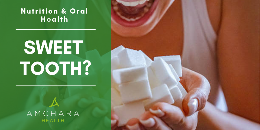 Sweet Tooth Eating Sugar Cubes