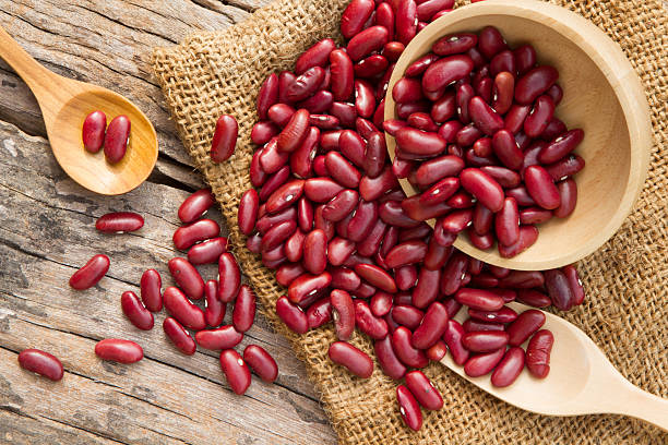 Red Kidney Beans on table