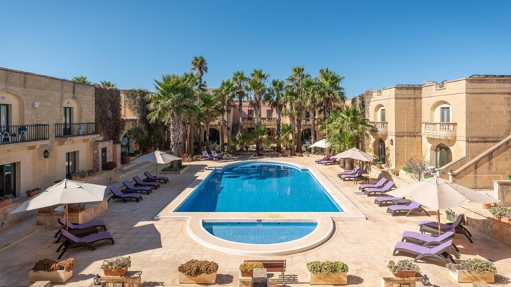 Amchara Gozo - Pool Area