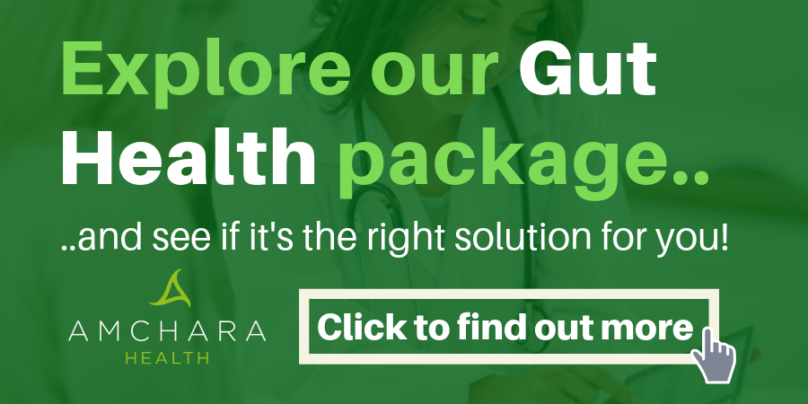 Book a Free Gut Health Consultation with Amchara