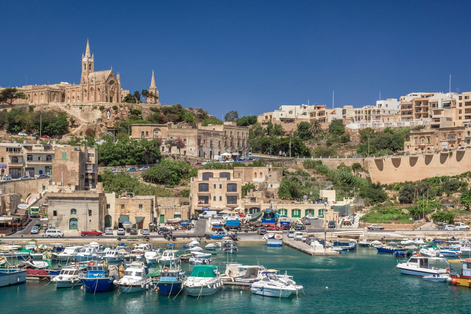 Gozo-Port-View