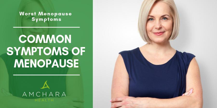 common symptoms of menopause