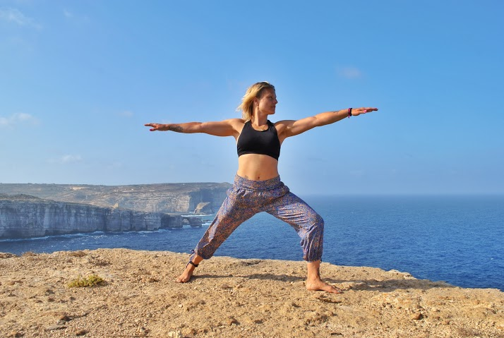 Warrior-two-or-in-sanskrit-Virabhadrasana-dve