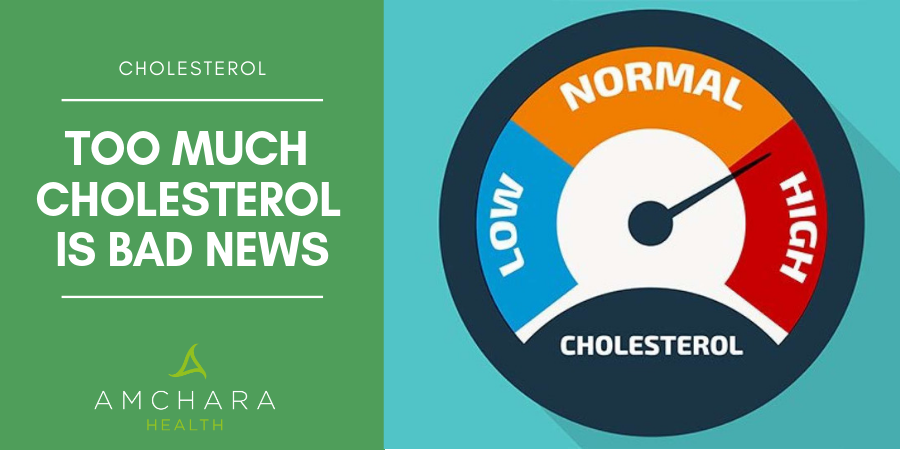 Too Much Cholesterol is Bad News