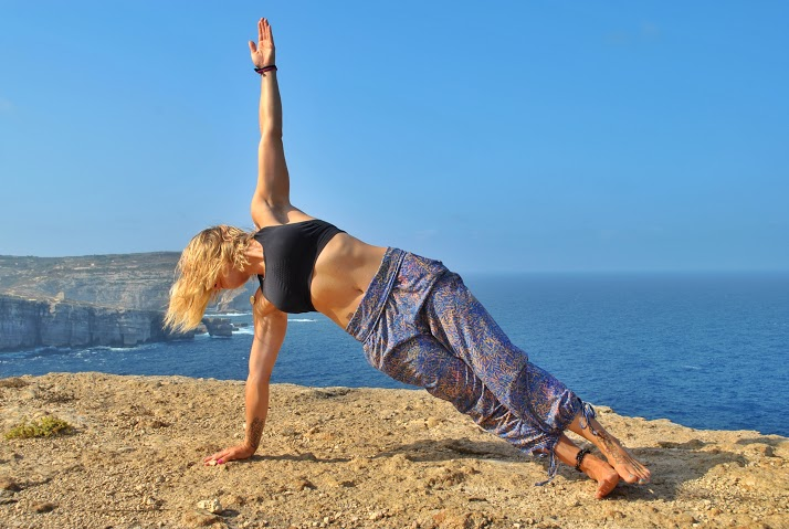 Yoga Pose of the Week:  Side Plank/Vasisthasana