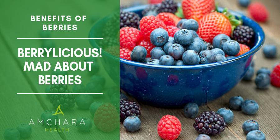 Proven Health Benefits of Berries