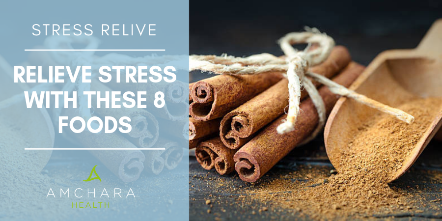 Top 8 foods for stress relief