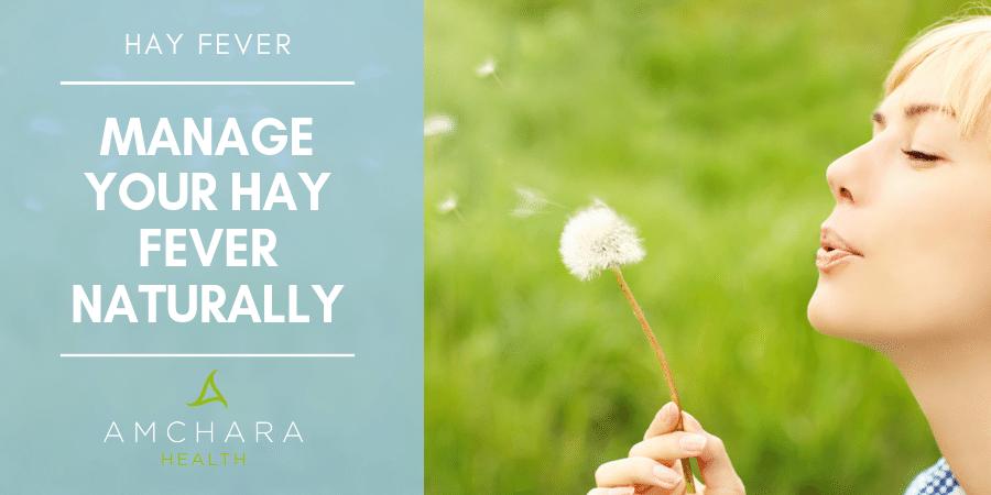 Tackling Hay Fever Naturally