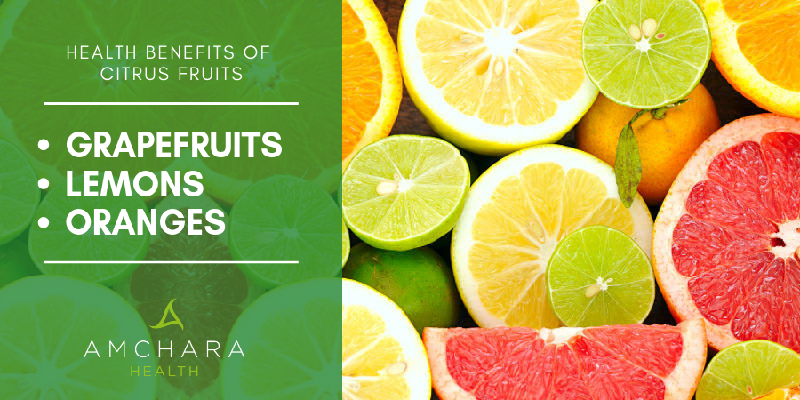 The Many Health Benefits Of Citrus Fruits