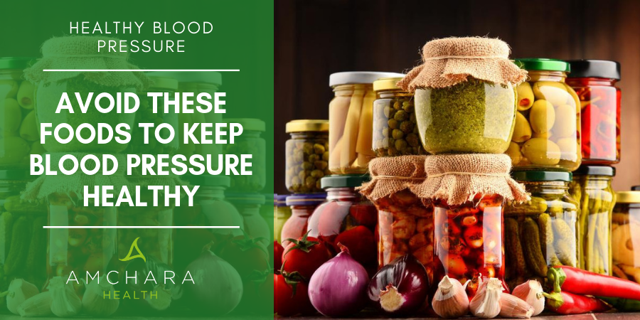 Foods to avoid for a healthy blood pressure