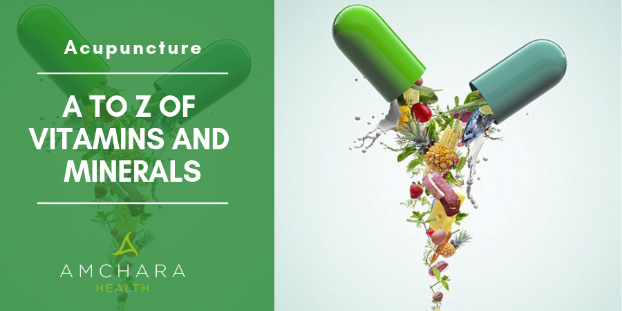 Nature's Pharmacy - A to Z of Vitamins and Minerals