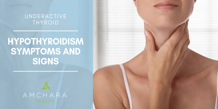 How to tell if you have an underactive thyroid