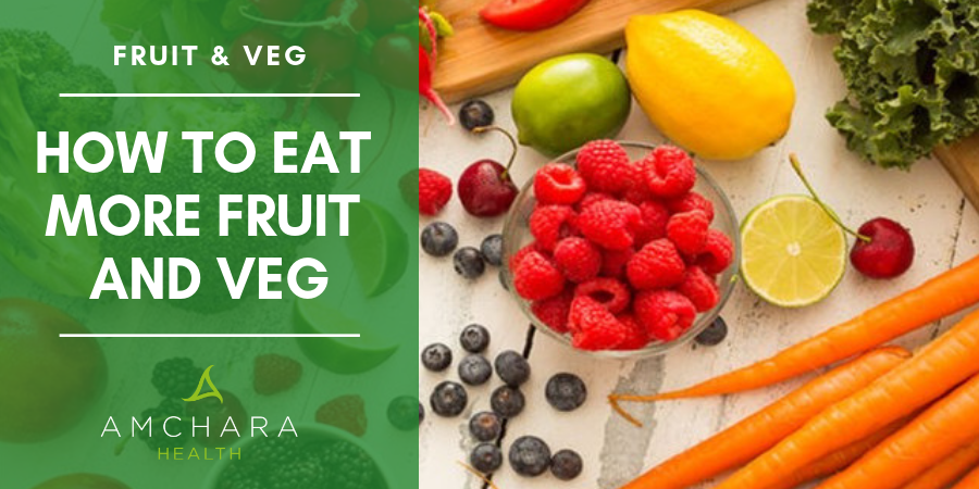 Top Tips for Squeezing Extra Fruit and Veggies into Your Diet