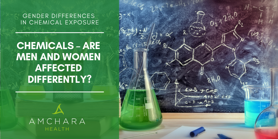 Gender Differences In Chemical Exposure.