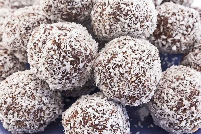 Carob Mint Balls