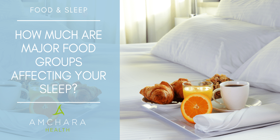 Protein, carbohydrates and fat: which of these governs how well you sleep?