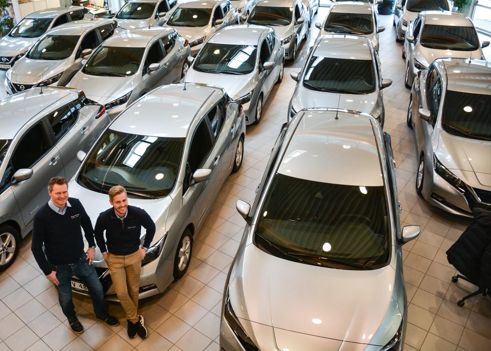 Brukt Nissan Leaf 2016   44 700 km   Birger N. Haug
