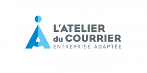 logo : L'ATELIER DU COURRIER ENTREPRISE ADAPTEE