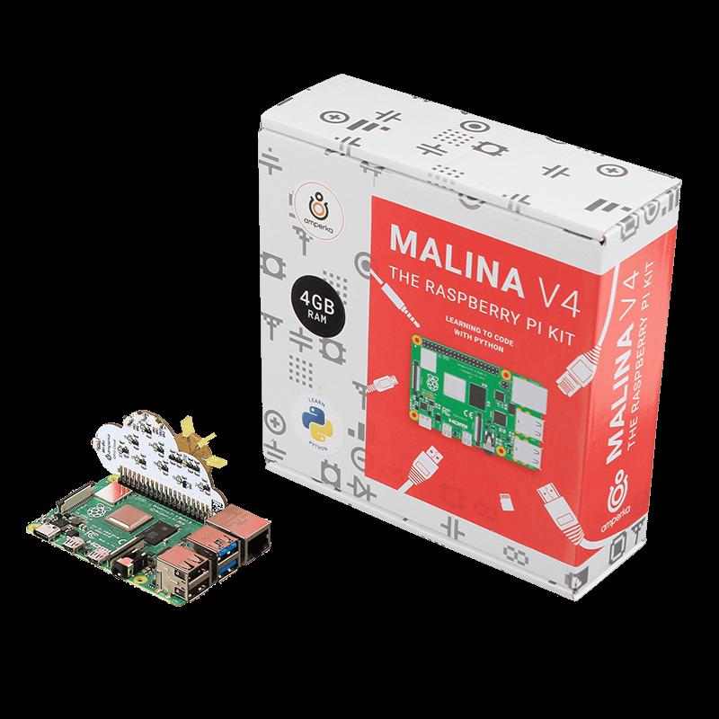 Malina v4: The Raspberry Pi 4 Kit