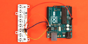 Octoliner basic connection to Arduino Uno