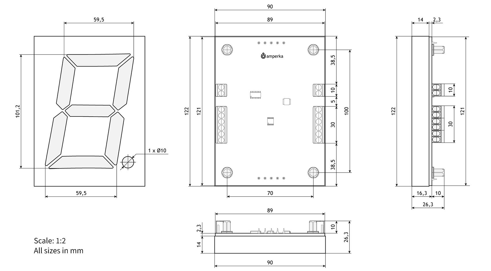 segm8 dimensions