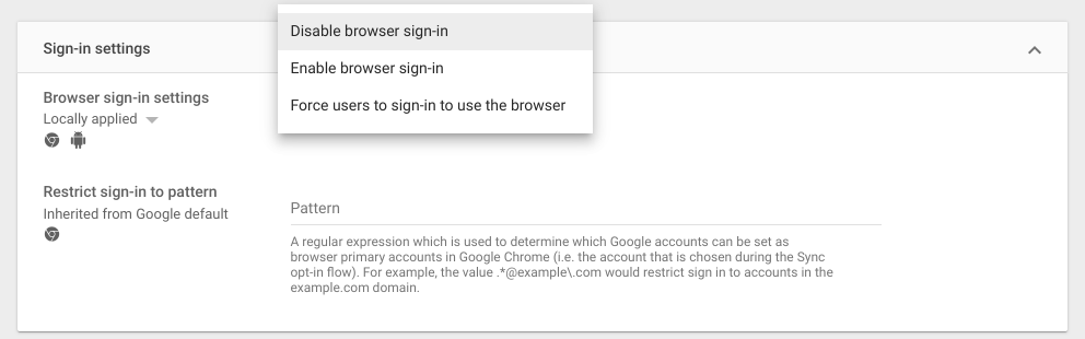 sign in settings graphic