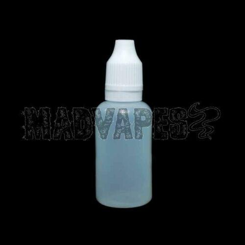 Empty Soft 30mL Bottle w/ Childproof Tamper Evident Cap