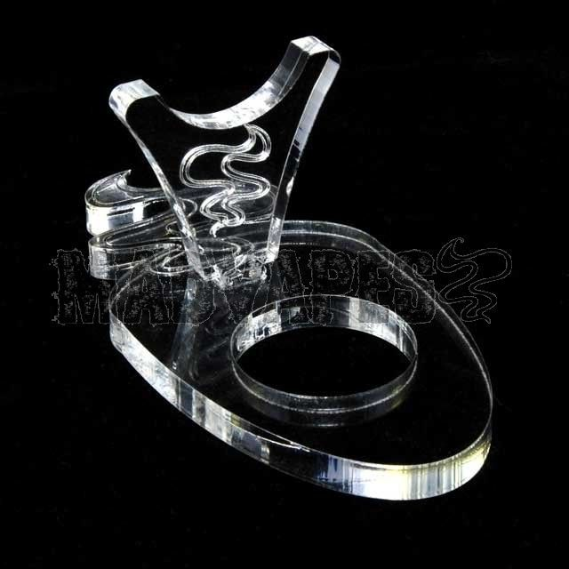 Clear Acrylic MV Plume e-Pipe Stand