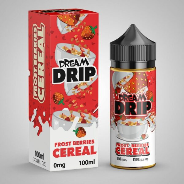 Dream Drip, Frosted Berries Cereal