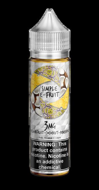 Simple E-fruit, Passion Fruit Coconut Pineapple