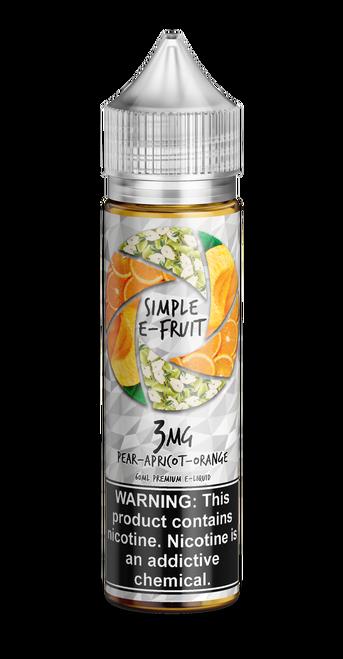 Simple E-fruit, Pear Apricot Orange