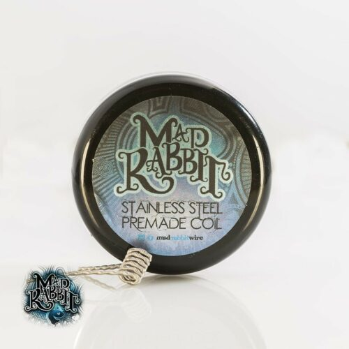 Mad Rabbit Stainless Steel Pre-made Coil Container