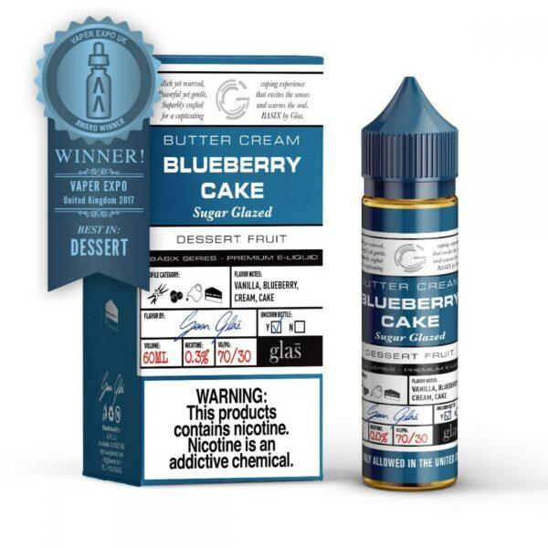 Glas Basix, Blueberry Cake