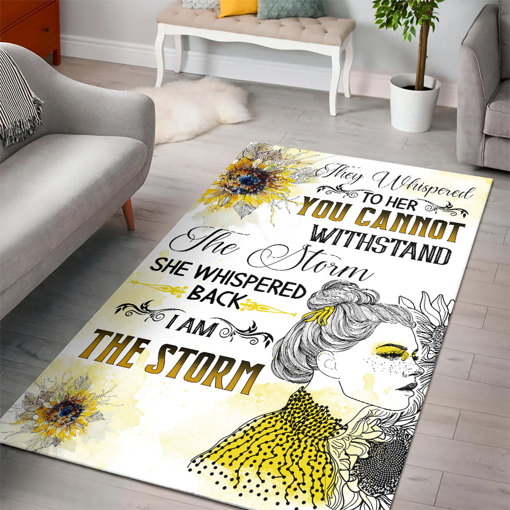 Personalized Floor Area Rugs They Whispered To Her You Cannot Withstand Pattern 1 Indoor Home Decor Carpets Suitable For Children Living Room Bedroom Birthday Christmas Aniversary