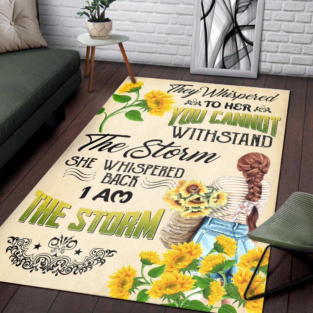 Personalized Floor Area Rugs They Whispered To Her You Cannot Withstand Pattern 2 Indoor Home Decor Carpets Suitable For Children Living Room Bedroom Birthday Christmas Aniversary