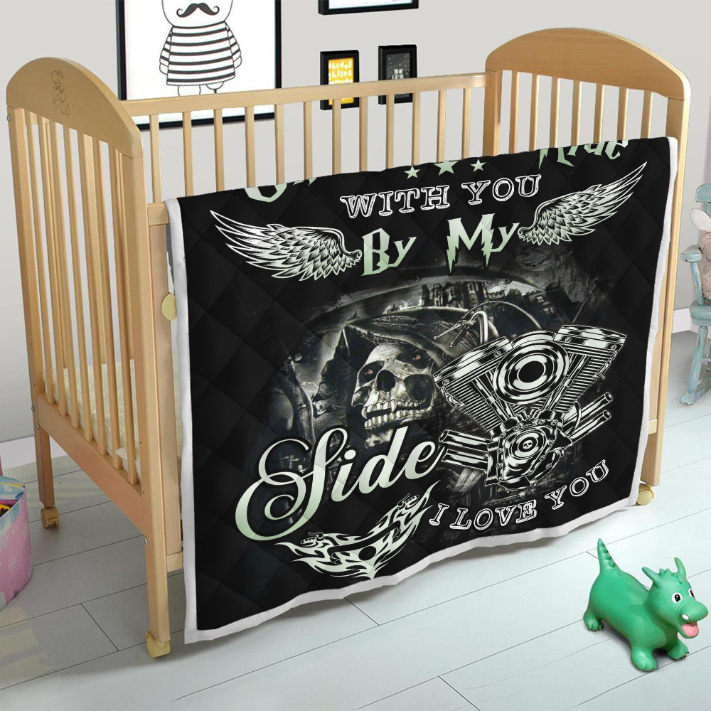 Personalized Quilt Throw Blanket Life Is One Sweet Ride Wit You  By My Side I Love You Pattern 2 Lightweight Super Soft Cozy For Decorative Couch Sofa Bed