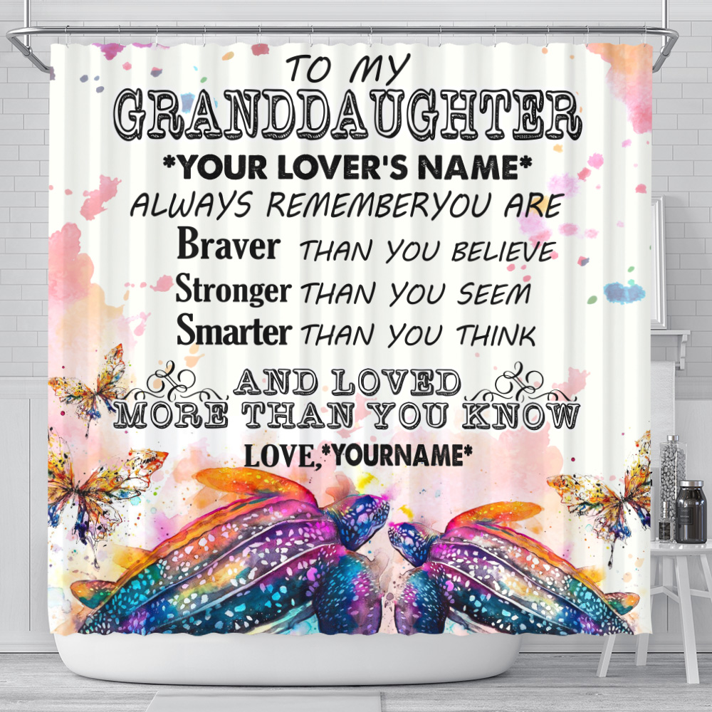 Personalized Floor Area Rugs To My Granddaughter Always Remember You Are And Love More Than You Know Pattern 2 Indoor Home Decor Carpets Suitable For Children Living Room Bedroom Birthday Christmas Aniversary