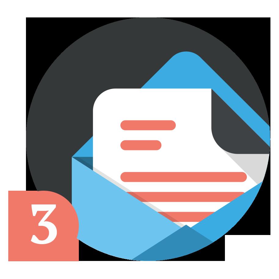Du mottar tilbud direkte per e-post
