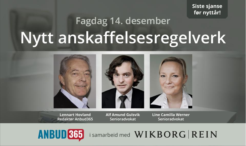 Anbud365: Klart for fagdag i Anbud365-regi