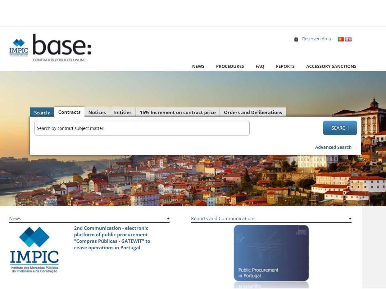 Anbud365: Portugisisk løsning for direkteanskaffelser under terskelverdiene