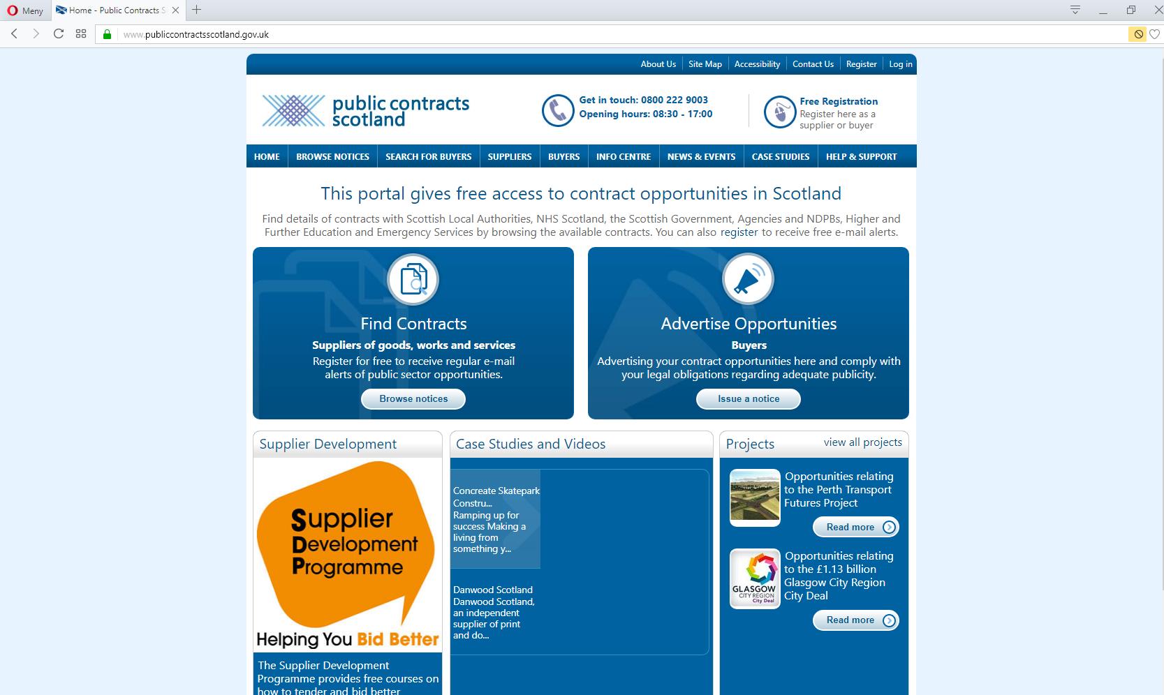 Anbud365: SMB-leverandører tar godt for seg av offentlige kontrakter i Skottland