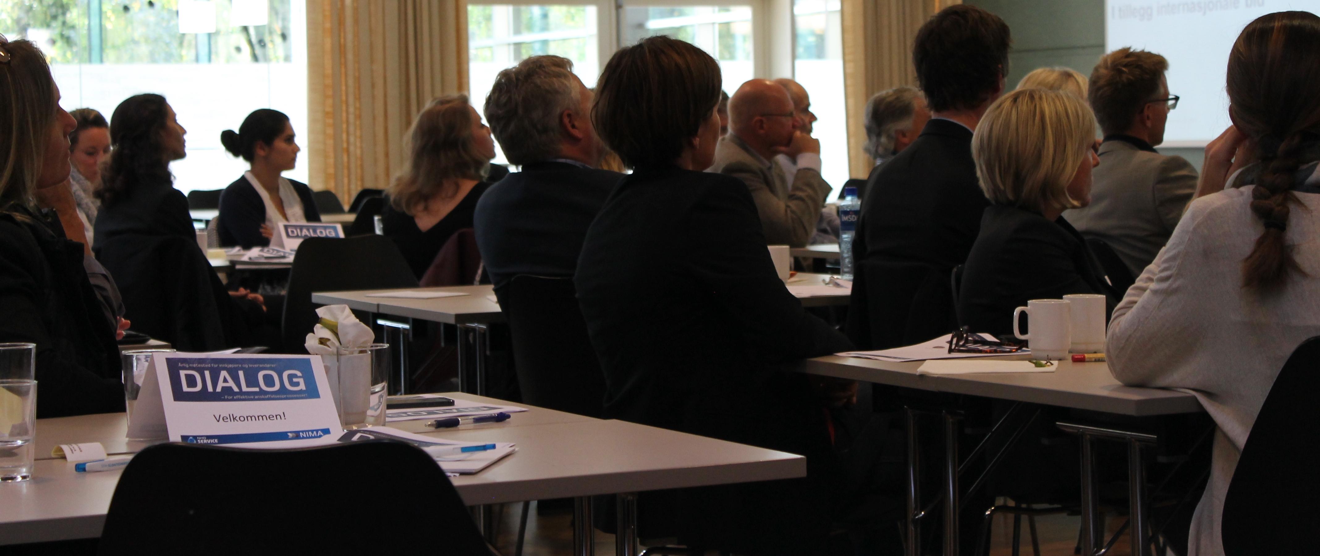 Anbud365: Konferansen DIALOG 2019 møteplass for dialog mellom innkjøpere og leverandører